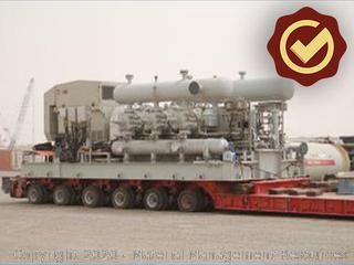 High Pressure Compressors (Two Trains)
