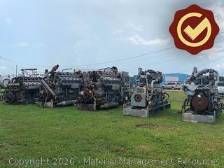 1 Ea. Waukesha Engine (S# 366825) with KATO Generator (S# 86201-1)