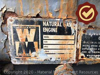 1 Ea. Waukesha Engine (S# 198249)