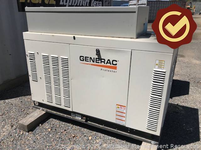 Generac Generator - Non Working (IRP-21-009)