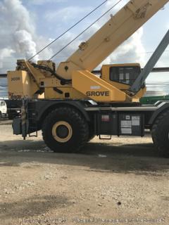 90 Ton Grove Crane