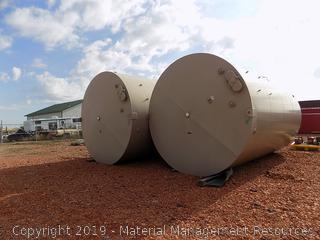 400 Barrel Tanks (Qty 4) - BID LUMP SUM FOR LOT