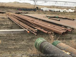 """2-3/8"""" Red band tubing, 35 joints, various types"""