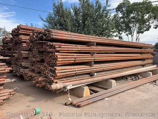 "2 7/8"" Used Red Band Tubing, 2,863 Joints (BID PER JOINT)"