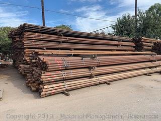 "2 7/8"" Used Red Band Tubing, 3,084 Joints (BID PER JOINT)"