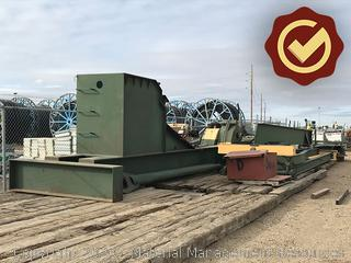 Lufkin pumping unit, size 640D, serial #: F37089G-336936