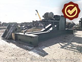 Lufkin pumping unit, size 640D, serial #: F44725J-364237