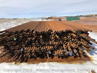 "+/- 5,000 joints of used 2-7/8"" Red band tubing (Tioga, ND)"