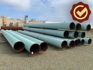 "24"" Coated Pipe - 41 Joints"
