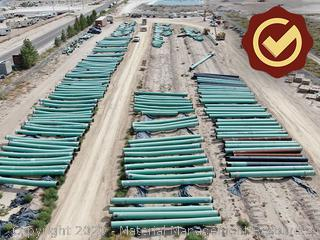 "30"" FBE Line Pipe Mfg Bends - Kermit, TX"