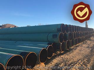 "30"" FBE Line Pipe Over 32' - Kermit, TX"